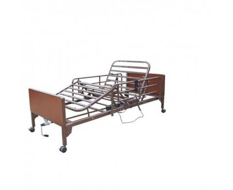 Νοσοκομειακό κρεβάτι ημι-ηλεκτρικό πολύσπαστο με χειροκίνητη ανύψωση