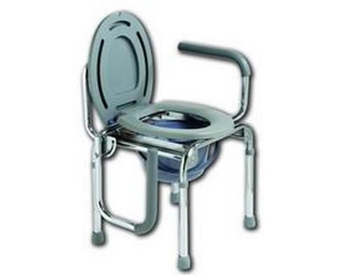 Κάθισμα Τουαλέτας με Βραχίονες που πέφτουν - 1