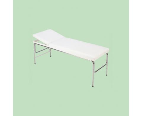 Εξεταστικό Κρεβάτι με Σταθερά Πόδια & Ίσιο Προσκέφαλο