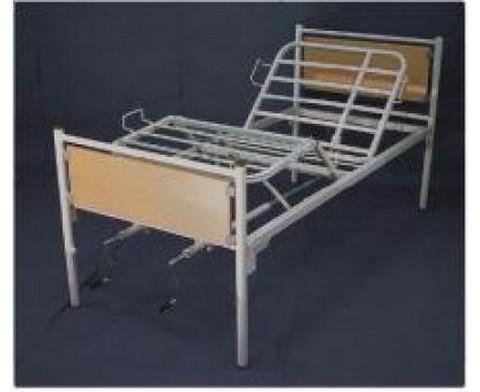 Νοσοκομειακό κρεβάτι πολύσπαστο με 2 μανιβέλες - 1