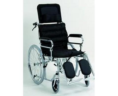 Αναπηρικό Αμαξίδιο με Πλάτη Ανακλινόμενη και Μαξιλάρι