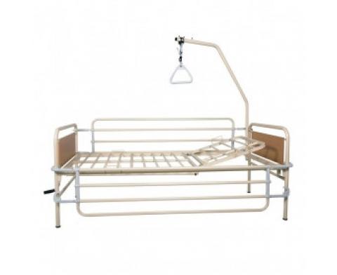 Μονόσπαστο Χειροκίνητο Νοσοκομειακό Κρεβάτι