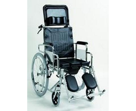 Αναπηρικό Αμαξίδιο με Πλάτη Ανακλινόμενη