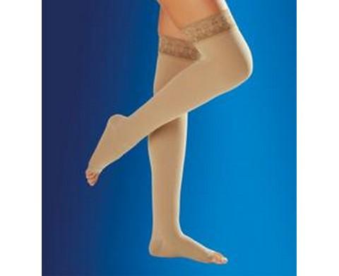 Κάλτσα Άνω Γόνατος (ανοιχτά δάχτυλα) CLASS II